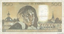 500 Francs PASCAL FRANCE  1980 F.71.21 TB