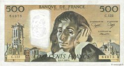 500 Francs PASCAL FRANCE  1980 F.71.22 TB+