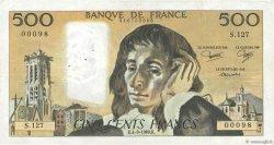 500 Francs PASCAL FRANCE  1980 F.71.22 TTB