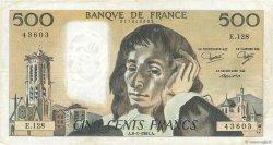 500 Francs PASCAL FRANCE  1981 F.71.23
