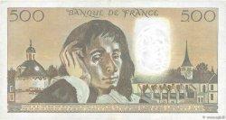 500 Francs PASCAL FRANCE  1981 F.71.23 TTB
