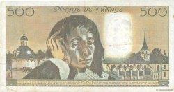 500 Francs PASCAL FRANCE  1985 F.71.32 pr.TTB
