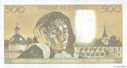 500 Francs PASCAL FRANCE  1988 F.71.39 TTB+
