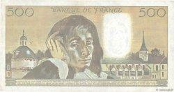 500 Francs PASCAL FRANCE  1988 F.71.39 TTB