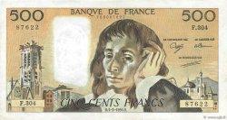 500 Francs PASCAL FRANCE  1990 F.71.43 TTB