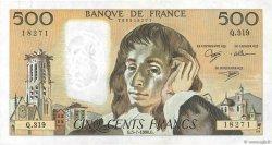 500 Francs PASCAL FRANCE  1990 F.71.44 TTB+