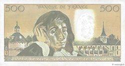 500 Francs PASCAL FRANCE  1990 F.71.44 SUP