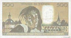 500 Francs PASCAL FRANCE  1990 F.71.45 TTB