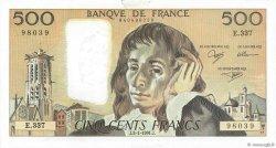 500 Francs PASCAL FRANCE  1991 F.71.46 TTB