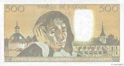 500 Francs PASCAL FRANCE  1991 F.71.46 TTB+