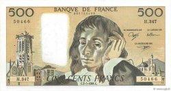 500 Francs PASCAL FRANCE  1991 F.71.47 SUP+