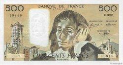 500 Francs PASCAL FRANCE  1992 F.71.50 TTB+
