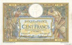 100 Francs LUC OLIVIER MERSON sans LOM FRANCE  1909 F.23.01 TTB+