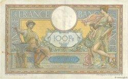 100 Francs LUC OLIVIER MERSON sans LOM FRANCE  1909 F.23.01 TTB