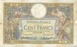 100 Francs LUC OLIVIER MERSON sans LOM FRANCE  1910 F.23.02 pr.TTB