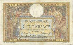 100 Francs LUC OLIVIER MERSON sans LOM FRANCE  1916 F.23.08 TB+