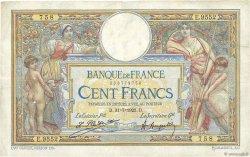 100 Francs LUC OLIVIER MERSON sans LOM FRANCE  1923 F.23.16 TTB