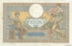 100 Francs LUC OLIVIER MERSON grands cartouches FRANCE  1925 F.24.03 TTB