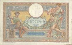 100 Francs LUC OLIVIER MERSON grands cartouches FRANCE  1926 F.24.04 pr.TTB