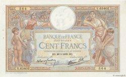 100 Francs LUC OLIVIER MERSON type modifié FRANCE  1939 F.25.40 pr.SUP