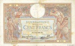 100 Francs LUC OLIVIER MERSON type modifié FRANCE  1939 F.25.41 TB