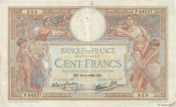100 Francs LUC OLIVIER MERSON type modifié FRANCE  1939 F.25.43 TB à TTB