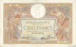 100 Francs LUC OLIVIER MERSON type modifié FRANCE  1939 F.25.46 TB