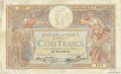 100 Francs LUC OLIVIER MERSON type modifié FRANCE  1939 F.25.47 TB