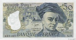 50 Francs QUENTIN DE LA TOUR FRANCE  1979 F.67.05 pr.NEUF