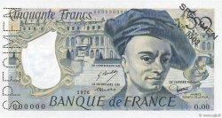 50 Francs QUENTIN DE LA TOUR FRANCE  1976 F.67.00s1 pr.SPL