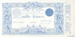 1000 Francs 1862 indices noirs modifié FRANCE  1885 F.A50.00 pr.NEUF