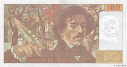 100 Francs DELACROIX imprimé en continu FRANCE  1991 F.69bis.03a1 pr.NEUF