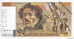 100 Francs DELACROIX FRANCE  1978 F.68.00 SPL