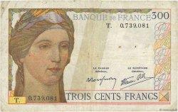 300 Francs FRANCE  1939 F.29.03 pr.B