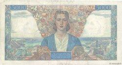 5000 Francs EMPIRE FRANÇAIS FRANCE  1942 F.47.03 TTB