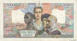 5000 Francs EMPIRE FRANÇAIS FRANCE  1945 F.47.11 TB