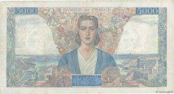 5000 Francs EMPIRE FRANÇAIS FRANCE  1945 F.47.15 pr.TTB