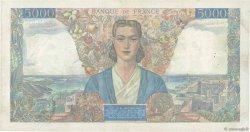 5000 Francs EMPIRE FRANÇAIS FRANCE  1945 F.47.17 TTB