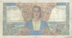 5000 Francs EMPIRE FRANÇAIS FRANCE  1945 F.47.18 TB