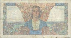 5000 Francs EMPIRE FRANCAIS FRANCE  1945 F.47.20 B