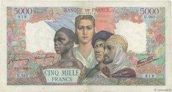 5000 Francs EMPIRE FRANÇAIS FRANCE  1945 F.47.24 pr.TTB