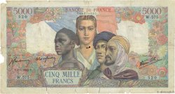 5000 Francs EMPIRE FRANÇAIS FRANCE  1945 F.47.24 AB