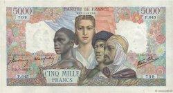 5000 Francs EMPIRE FRANÇAIS FRANCE  1945 F.47.27 TTB
