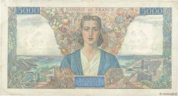 5000 Francs EMPIRE FRANÇAIS FRANCE  1945 F.47.30 pr.TTB