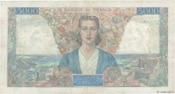 5000 Francs EMPIRE FRANÇAIS FRANCE  1945 F.47.31 pr.TTB