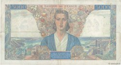 5000 Francs EMPIRE FRANÇAIS FRANCE  1945 F.47.32 pr.TTB