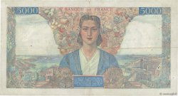 5000 Francs EMPIRE FRANÇAIS FRANCE  1945 F.47.36 TB+