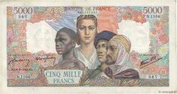5000 Francs EMPIRE FRANÇAIS FRANCE  1945 F.47.42 TB+