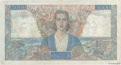5000 Francs EMPIRE FRANÇAIS FRANCE  1945 F.47.43 pr.TTB