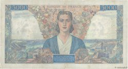 5000 Francs EMPIRE FRANÇAIS FRANCE  1945 F.47.44 pr.TTB